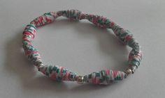 Collier ou bracelet en papier