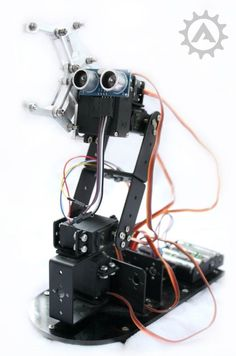 Robotic Arm (Full) Kit - Including photographic build instructions