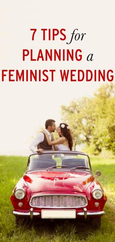 How to plan a feminist wedding