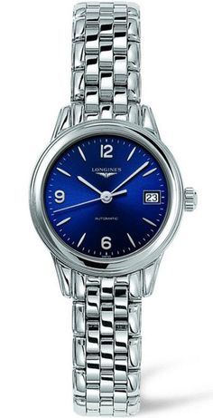 @longineswatches Flagship Ladies #add-content #bezel-fixed #bracelet-strap-steel #brand-longines #case-material-steel #case-width-26mm #date-yes #delivery-timescale-1-2-weeks #dial-colour-blue #gender-ladies #l42744966 #luxury #movement-automatic #new-product-yes #official-stockist-for-longines-watches #packaging-longines-watch-packaging #style-dress #subcat-flagship #supplier-model-no-l4-274-4-96-6 #warranty-longines-official-2-year-guarantee #water-resistant-30m