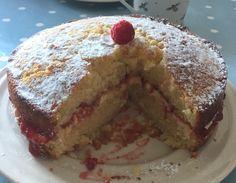 Queen Victoria Sponge - raspberry