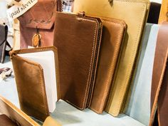 Leather Moleskine covers, Daniel Walling Holiday Market, Comfort And Joy, Long Winter, Moleskine, Gift Guide, Comfy, Marketing, Guys, Leather