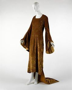 Evening dress Maria Gallenga (Italian, Rome 1880–1944 Umbria) Date: early 20th century Culture: Italian