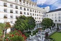 Hotel Le Bristol in Paris, Boutique Hotel | Splendia - http://pinterest.com/splendia/