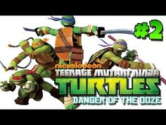 Teenage Mutant Ninja Turtles: Danger of the Ooze - Part 2 (Gameplay, Com...