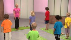 http://bit.ly/1jXRrD7 - In this session of yoga designed specifically for kids with Sara Vance, she teaches them about basic yoga principles and origins, whi...
