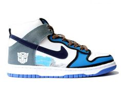 Nike High SB Transformers Dunks High Tops