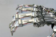 robotic hand + arm