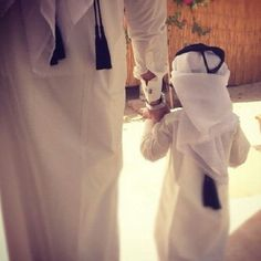 awww masha Allah...I give that egal and ghutra about 5 minutes on his head like that ;)