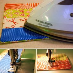 How-To: Simple Quilted Potholder | MAKE: Craft