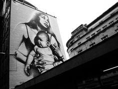 modern day Madonna - Bristol, UK