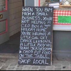 Shop Local -- Here's Why | Content in a Cottage