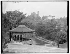 The Spring house, Eden Park, 1900-1910