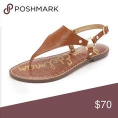 Sam Edelman Gretta Thong Sandal Worn once! Comes with box Sam Edelman Shoes Sandals
