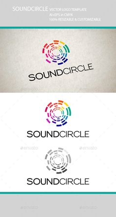 Sound Circle Music Logo — Vector EPS #symbol #circle • Available here → https://graphicriver.net/item/sound-circle-music-logo/7088944?ref=pxcr