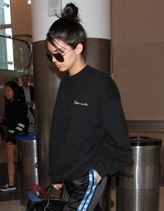 September 26, 2016 - jets out of LAX airport Kendall Nicole Jenner Fashion Style