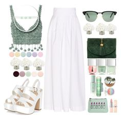 """""""haappy set .. aid moubaraaaaak """" by naomy-nona ❤ liked on Polyvore featuring Rosie Assoulin, Chanel, Ray-Ban, Ethan Allen, Nails Inc., Deborah Lippmann, Tatcha, Urban Decay, Emma Lomax and Charlotte Russe"""
