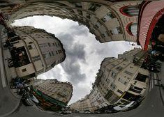 Brent Townshend - www.tc.com  Una colomba nel cielo di Parigi