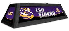 LSU Tigers Billiard Table Light