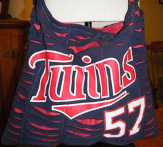 Twins Recycled/Upcycled Tshirt Cross Body Bag by olddirtyteebags, $24.00