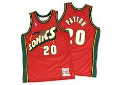 Seattle Supersonics Gary Payton 1997 - 1998 Authentic Jersey
