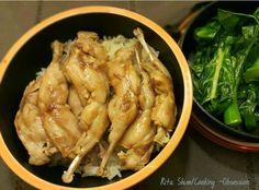 傳統鵪鶉肶焗飯 Traditional quail rice ~