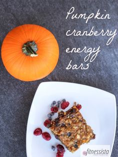1 cup raw cashews 4 medjool dates, pitted 1/2 cup dried cranberries 2 eggs 1/2 cup pumpkin puree 1 teaspoon vanilla heaping tablespoon of ho...