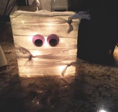 Mummy Glass Block. Selling for $30