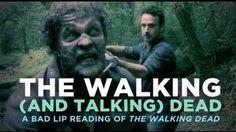 Bad Lip Reading Of Walking Dead. Omg this had me cracking up lol esp the governor bit haha lol @Amanda Snelson Choquette @Lisa Phillips-Barton Saheb @Stephanie Close Mixon