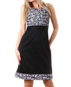 Елегантна рокля на bote | http://shopzone.bg/womens/рокли/71243/Дамска-рокля-в-черно-и-бяло-на-bote