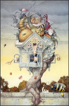daniel merriam: one day I'll have one of his paintings hanging in my house :)