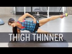 Thigh Exercises For Losing Fat - YouTube