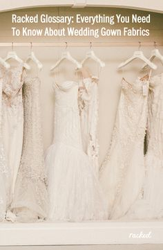 Perfect Glossary Everything You Need To Know About Wedding Gown Fabrics