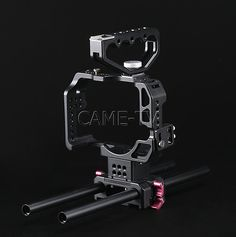 Protective Cage for GH4 Camera Rig with Handle