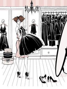 new ideas for illustration art girl fashion megan hess Megan Hess Illustration, Illustration Art, Arte Fashion, Girl Fashion, Trendy Fashion, Moda Wallpaper, Glamour Moda, Kerrie Hess, Jacky Winter