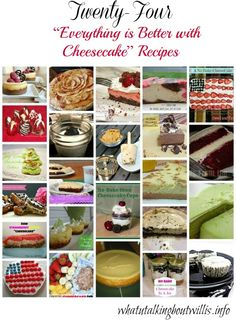 22 Different Cheesecake Recipes