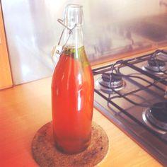 Tè freddo menta e cannella fatto in casa :)