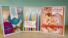 ellen vargo designs: Picture Perfect Birthday Card Trio