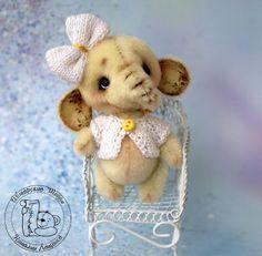 Ташкины мишки Teddy Bears: Слоня Юя
