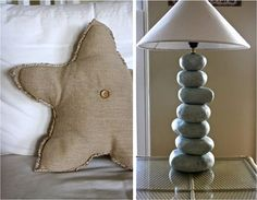 Love this for a beach inspired guest room!