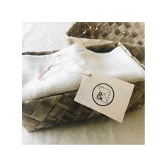 Fog & Moon 100% pure linen napkin set.  #textile #natural #linen #designer #home