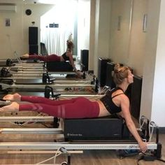 Back extension on the box and pull ups. Use one blue spring. Pilates Reformer Exercises, Pilates Workout, Club Pilates, Workouts, Weight Loose Tips, Back Extensions, Wednesday Workout, Muscles In Your Body, Overhead Press