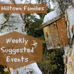 Beat the winter blues with Hilltown Families list of Weekly Suggested Events! It's the beginning of winter festivals and celebrations this weekend, along with wonderful indoor learning opportunities. Plus, get a peak at a couple of school vacation week activities that involve rock climbing & making pottery!