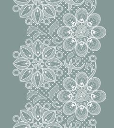 Old lace ornate background vector 04