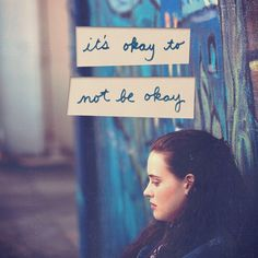 "13 reasons why Hannah Baker ""It's okay to not be okay"""
