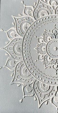 Chalk painted my iphone cover! Mandala Mural, Mandala Painting, Grey Wallpaper Iphone, Wallpaper Backgrounds, Boho Backgrounds, Wallpapers, Clay Wall Art, Mandalas Drawing, Cool Walls