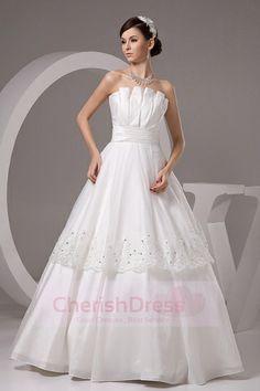 Scalloped Wedding Dresses cherishdress