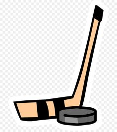 Hockey stick Hockey puck Cartoon Clip art - Hockey Stick