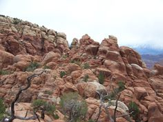 Fiery Furnace Hike, Arches National Park