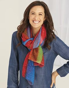 Just found this Lightweight Abstract Rainbow Scarf - Abstract Rainbow Scarf -- Orvis on Orvis.com!